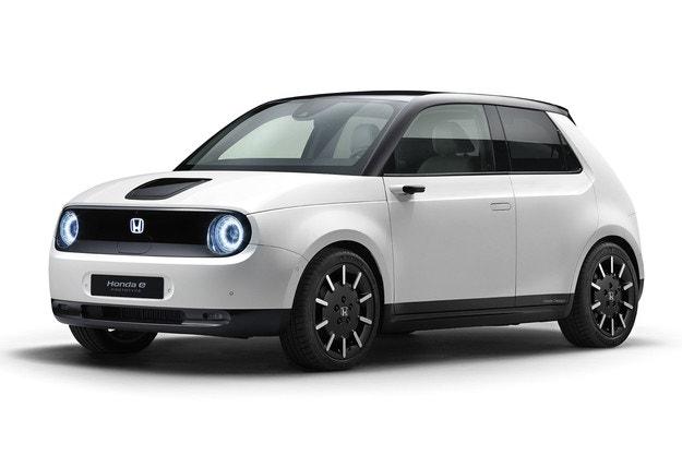 Honda e: Камери вместо странични огледала