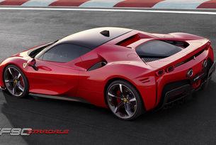 Ferrari представи хибрида SF90 Stradale