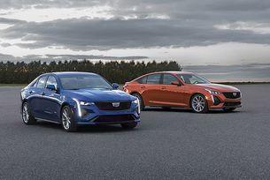 Cadillac представи спортните CT4-V и CT5-V