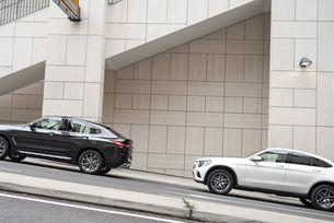 BMW X4, Mercedes GLC Coupe