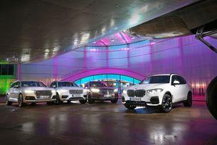 Audi Q7, BMW X5, VW Touareg, Volvo XC90