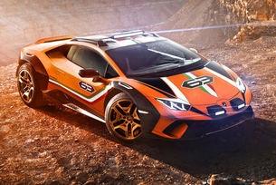 Lamborghini пусна високопроходим Huracan