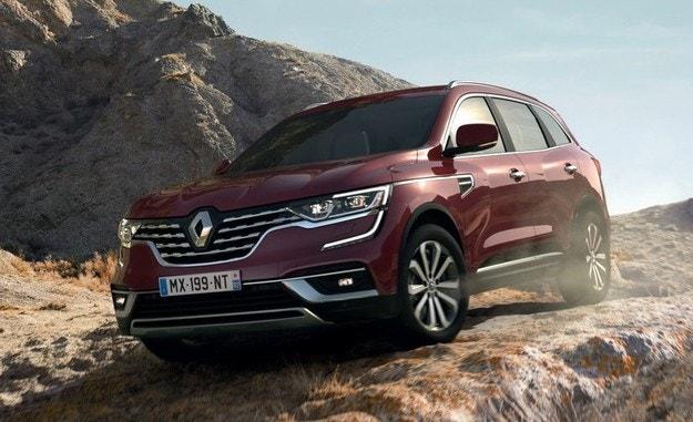 Renault представи обновения кросоувър Koleos