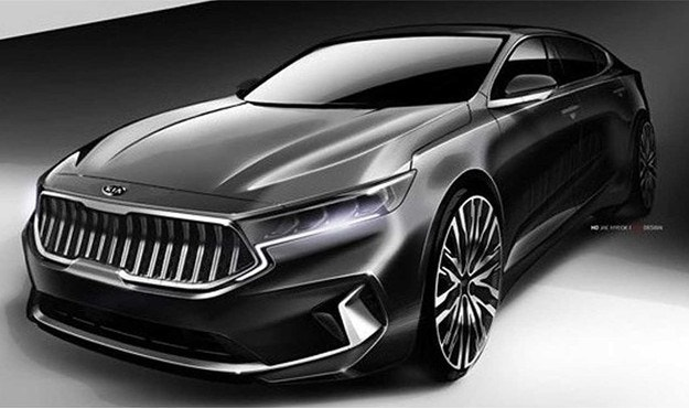 Kia разкри дизайна на обновения седан Cadenza