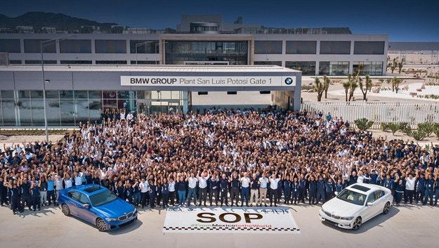 BMW откри първия монтажен завод в Мексико