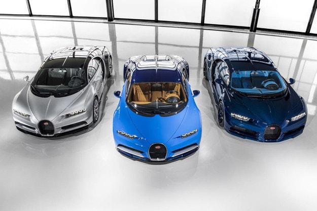 Така правят Bugatti Divo и Chiron Sport