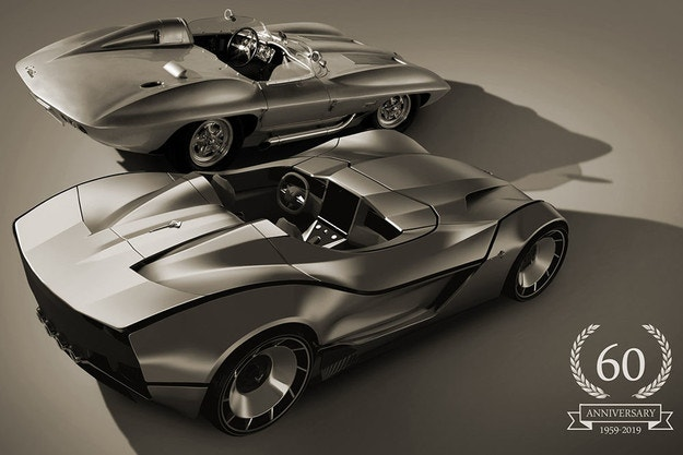 Corvette Stingray 60th Anniversary от Деян Христов