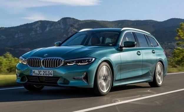 Разсекретиха новото комби BMW Серия 3