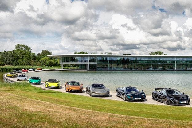 McLaren: Специална експозиция в Уокинг