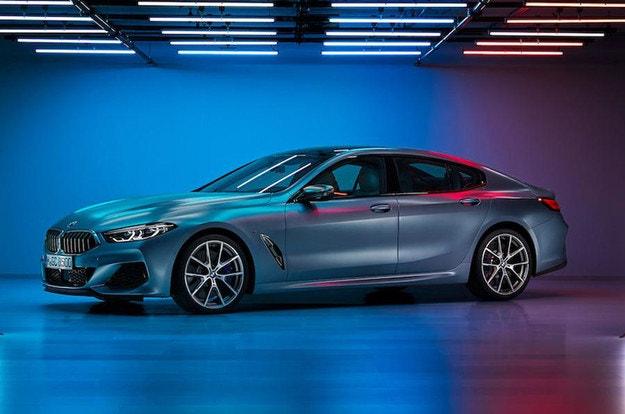 Първи снимки на BMW Серия 8 с четири врати