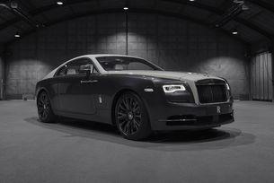 Разкриха скици на Rolls-Royce Wraith Eagle VIII