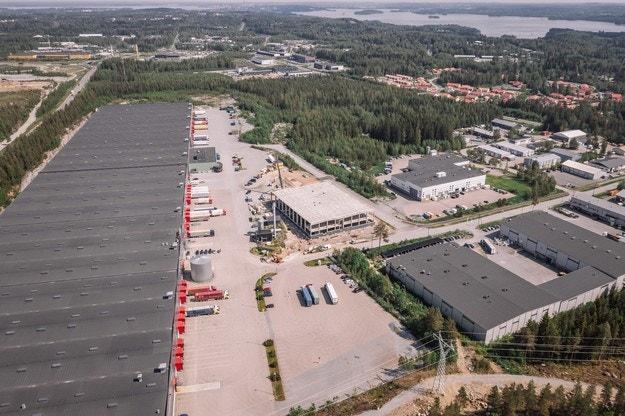 Най-голямата инвестиция Nokian Heavy Tyres