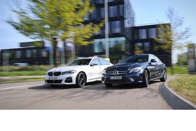 BMW 320d и Mercedes C 220 d
