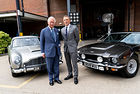 Три автомобила Aston Martin на кастинг за Джеймс Бонд