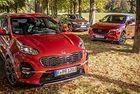 Kia Sportage, Mazda CX-5, Seat Ateca: През гори и поля