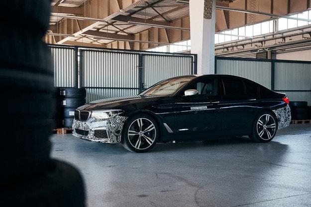 BMW превърна Серия 5 в електромобил