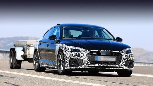 Тестовият Audi A5 Sportback разкрива нов дизайн