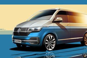 Volkswagen готви обновяване на кемпера California