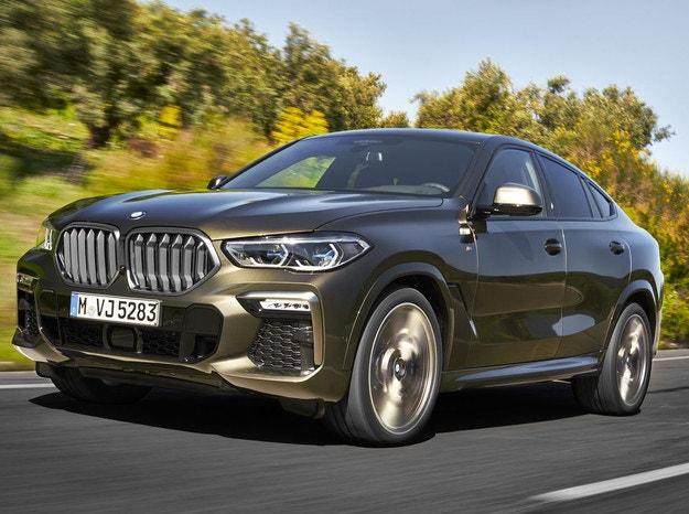 BMW представи новото поколение на X6