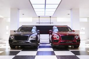 Bentley Bentayga вдъхновява Savile Row