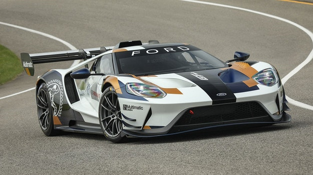 Ford показа пистовия вариант на модела GT