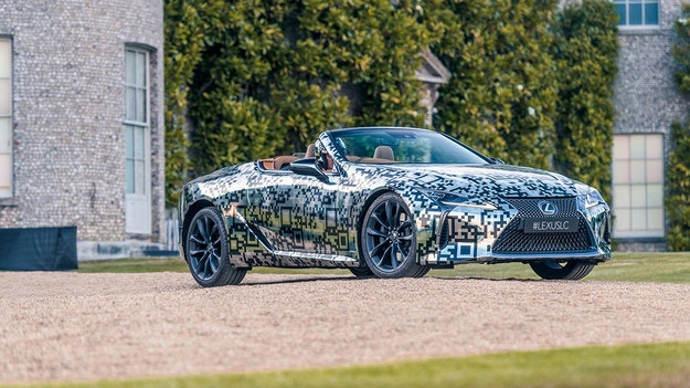 Lexus показа в Гудууд прототип на кабриолета LC