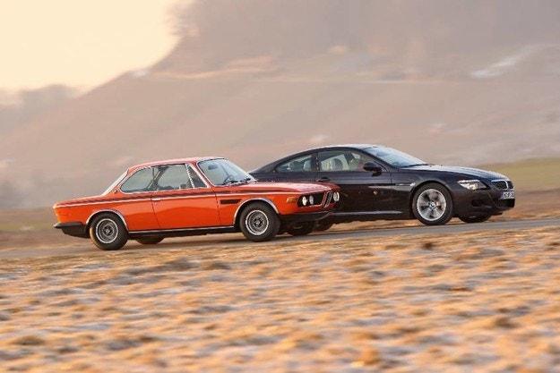 BMW 3.0 CSL и BMW M6