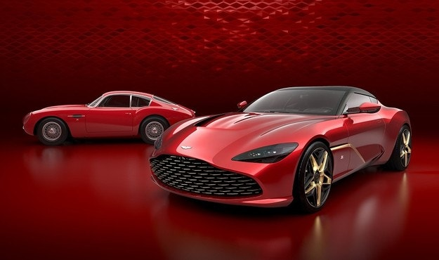 Aston Martin разкри спортния DBS GT Zagato