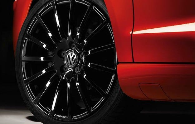 VW Polo GT-Rocket & Black/Silver