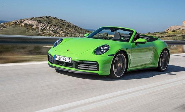Porsche 911 Cabriolet: Открит сезон