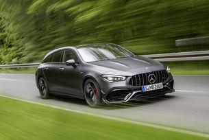 Mercedes-Benz показа AMG CLA 45 Shooting Brake