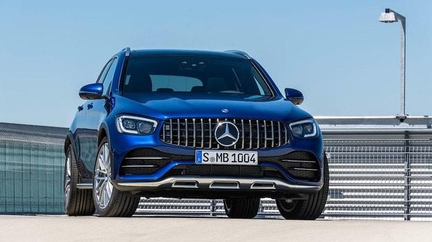 Mercedes-Benz обнови кросоувъра AMG GLC 43