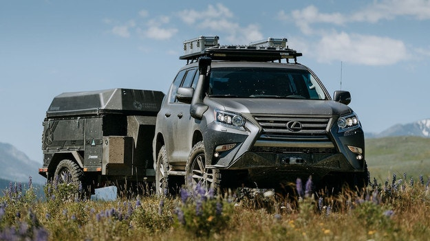 Lexus представя високопроходимия GXOR