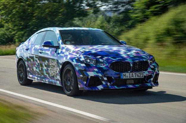 BMW започнаха тестовете на Серия 2 Gran Coupe