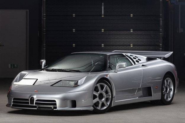 В Монтерей очакват Bugatti по мотиви от EB110 Super Sport