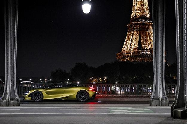 McLaren Париж: 26-ият шоурум в Европа
