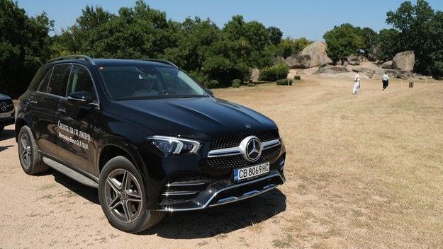 SUV гамата на Mercedes-Benz заблестяха на морето