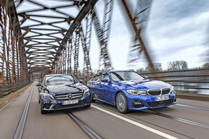 BMW 330i vs. Mercedes C 300