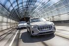 Audi e-tron срещу Tesla Model X: Game of trons