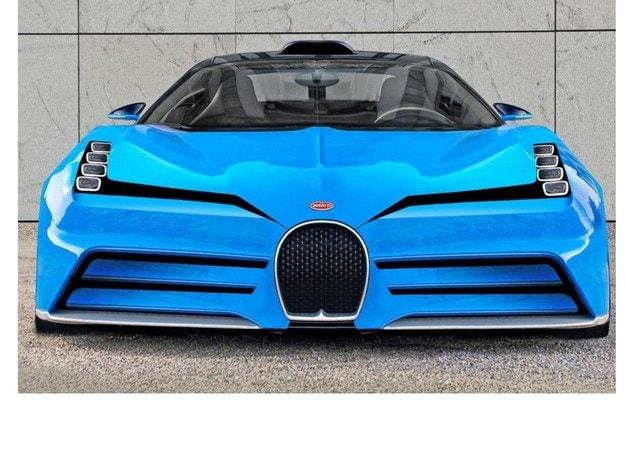 Bugatti в Пебъл Бийч