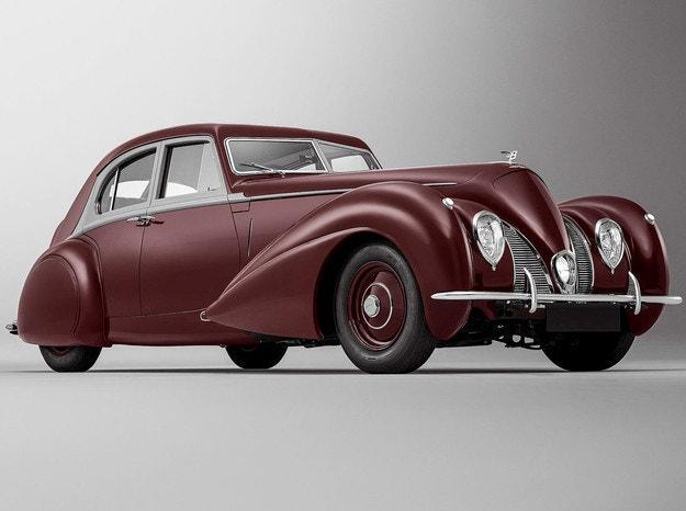 Bentley Corniche 1939: Възкръснал спомен