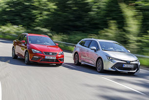 Seat Leon St 2.0 FR, Toyota Corolla TS 2.0 Hybrid