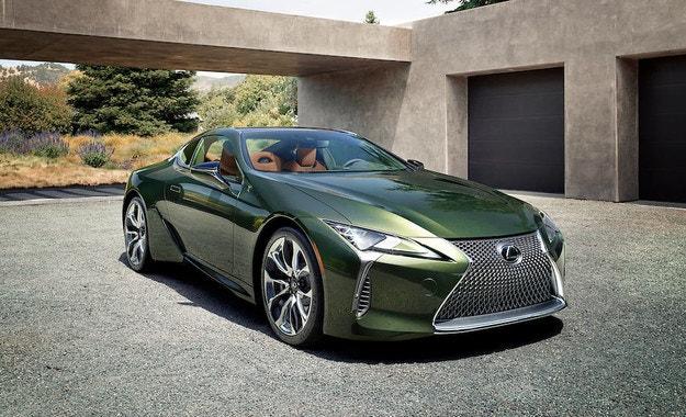 Lexus LC представя ново специздание Limited Edition