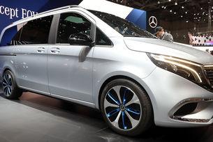 Mercedes пуска сериен премиум електрически миниван