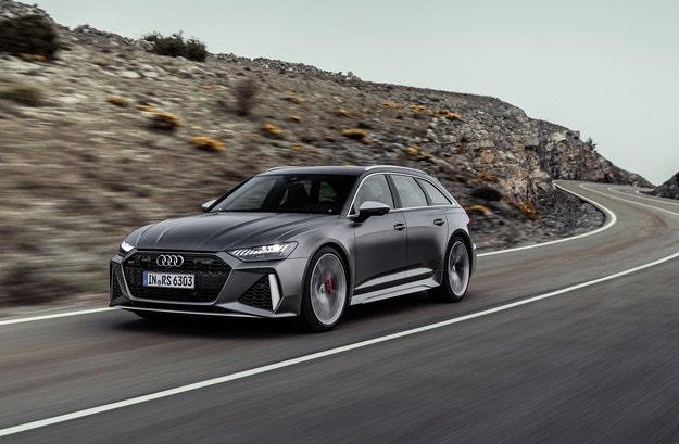 Audi представя новото комби RS6 Avant