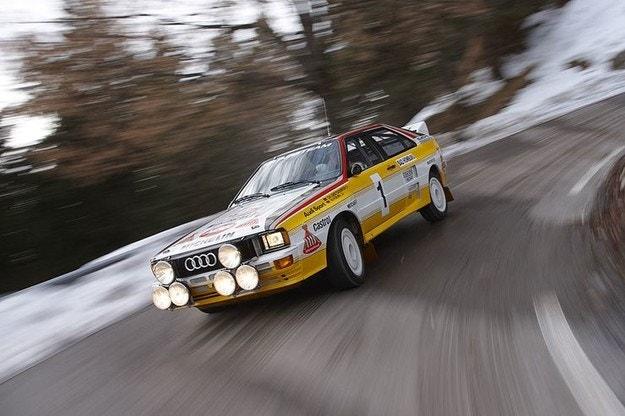 Audi Quattro и Валтер Рьол