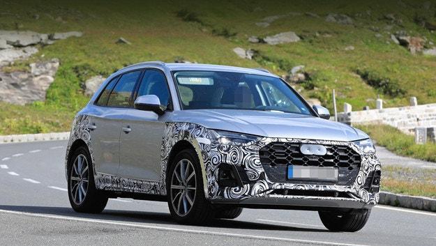 Audi Q5 показа новата си оптика