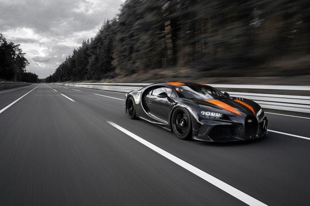 Това е Bugatti Chiron Super Sport 300+