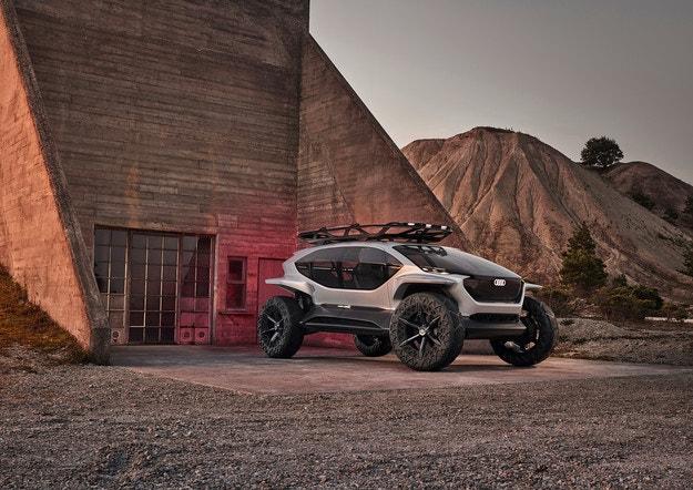 Audi направи всъдеход с автопилот от 4-то ниво