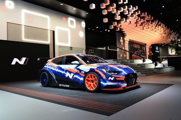 Hyundai обяви електрическия Veloster N ETCR Racing